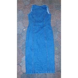 unknown Dresses - USA Denim Dress